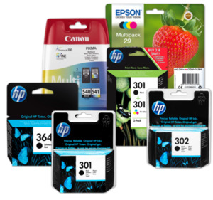 HP, EPSON oder CANON Druckerpatronen