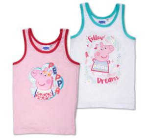 PAW PATROL, PEPPA PIG und MINNIE MOUSE Mädchen-Unterhemden