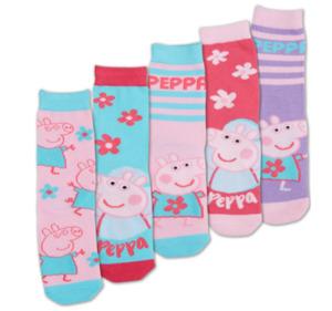 PAW PATROL, PEPPA PIG und MINNIE MOUSE Mädchen-Socken