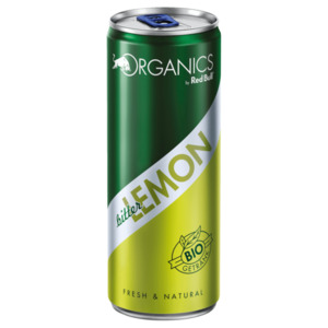 Organics by Red Bull bitter Lemon 0,25l