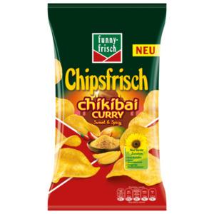 Funny Frisch Chipsfrisch Chikibai Curry sweet & spicy 175g