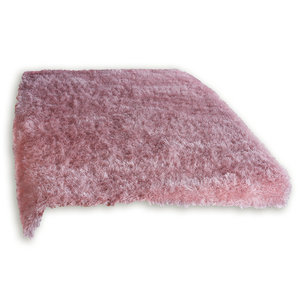 Hochflor-Teppich GLAMOUR - rosa - 80x150 cm