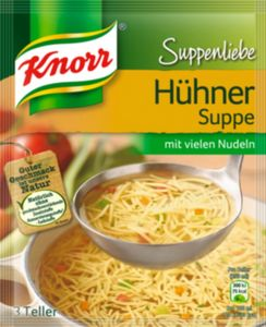 Hühnersuppe mit Nudeln Knorr, Suppenliebe ergibt 0,75 L