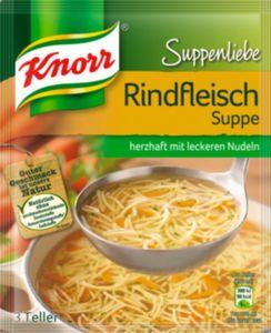 Knorr Rindfleischsuppe Suppenliebe ergibt 0,75 L