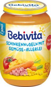 Bebivita Schinken-Nudeln mit Gemüse-Allerlei  220 g