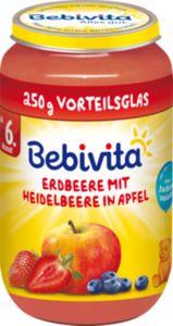Bebivita Erdbeere mit Heidelbeere in Apfel 250 g