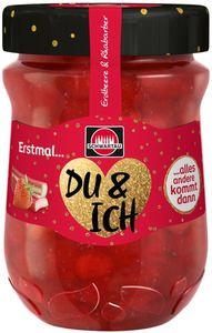 Schwartau Konfitüre Extra Erdbeer-Rhabarber 340g