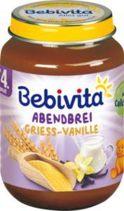 Bebivita Abendbrei Grieß-Vanille 190 g