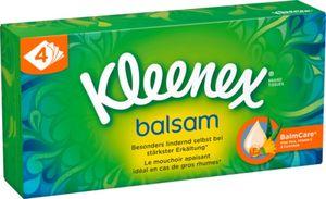 Kleenex Balsam Taschentücher, 60 Tücher, 4-Lagig