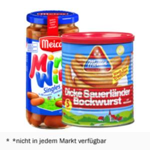 Metten Dicke Sauerländer Bockwurst oder Meica Mini Wini Würstchen