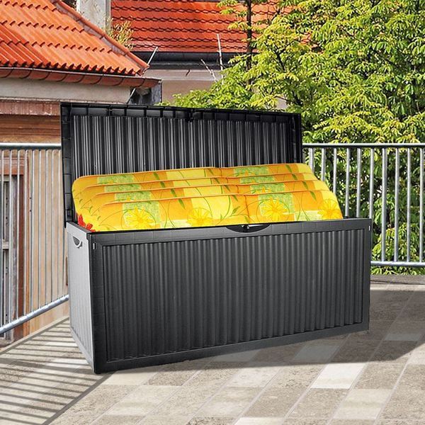 Gartenbox Wave Anthrazit