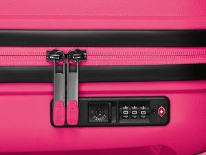 TOPMOVE® Polypropylen-Koffer 90L, pink