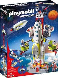 PLAYMOBIL 9488 Mars Rakete mit Startrampe
