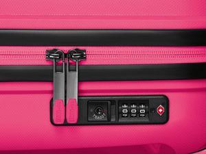 TOPMOVE® Polypropylen-Koffer 29L, pink