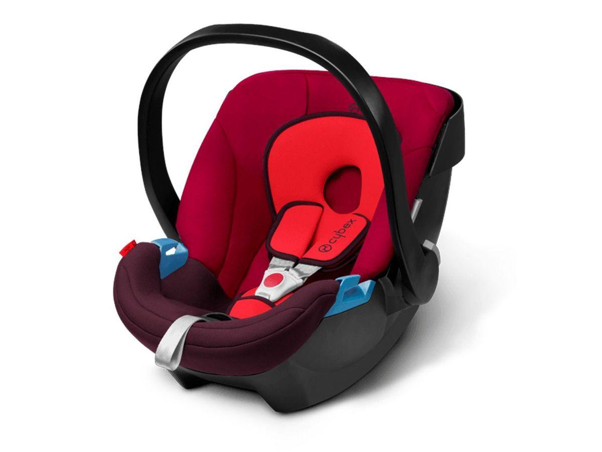 Bild 5 von CYBEX SILVER Set Babyschale Aton Rumba Red und Base-Fix SL