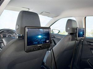 SILVERCREST® Portabler DVD-Player mit 2 Bildschirmen