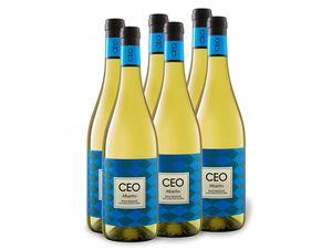 6 x 0,75-l-Flasche CEO Albariño Rias Baixas D.O. trocken, Weißwein