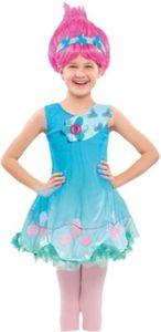 Kostüm Trollskleid Poppy Gr. 104/116