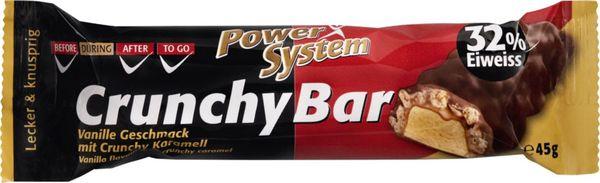 Power System Protein Riegel Vanille mit Crunchy Karamell 45g