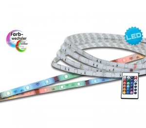 Näve LED Stripe RGB 5 m ,  mit Fernbedienung
