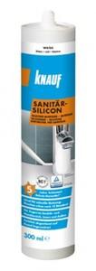Knauf Sanitär-Silikon ,  weiß, 300 ml