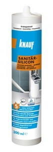 Knauf Sanitär-Silikon ,  transparent, 300 ml
