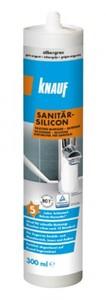 Knauf Sanitär-Silikon ,  silbergrau, 300 ml