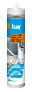 Knauf Sanitär-Silikon ,  zementgrau, 300 ml