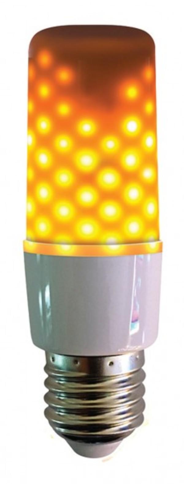 LED Flammenlicht Opal ,  E 27 - 3 W