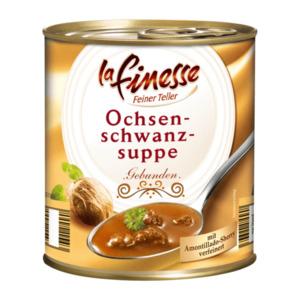 LA FINESSE     Ochsenschwanzsuppe