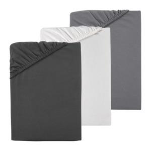 NOVITESSE     Spannbetttuch Grey & White