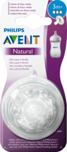 Philips AVENT NaturVS Sil 3+Gr1 3-Loch