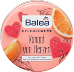 Balea Pflegecreme Orange & Wassermelone