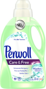 Perwoll Feinwaschmittel Perwoll Care & Free mit Mizellen Wasser
