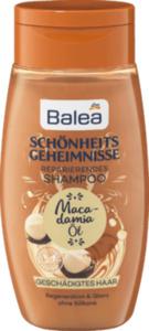 Balea Shampoo Schönheitsgeheimnisse Macadamia Öl