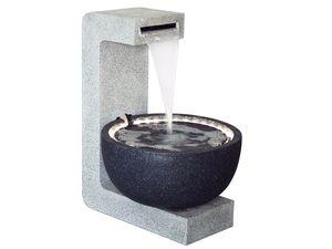 dobar Großer Design-Gartenbrunnen mit runder Schale