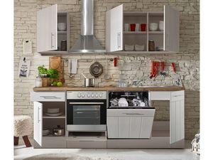respekta Premium Küchenblock Landhaus 220 cm