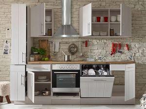 respekta Premium Küchenblock Landhaus 250 cm