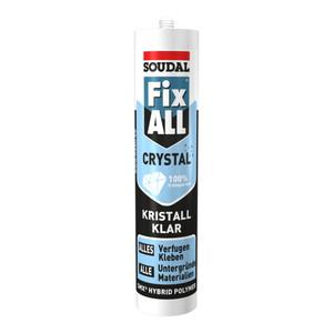 Soudal Dichtstoff Fix ALL® Crystal kristallklar 300 g/290 ml
