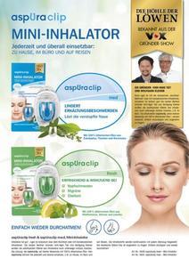 AspUraclip Mini-Inhalator fresh 3er-Set