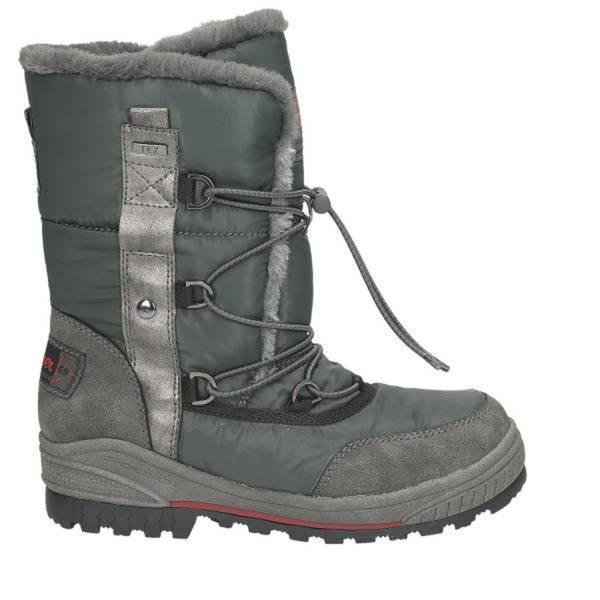 Damen Snow Boot, dunkelgrau