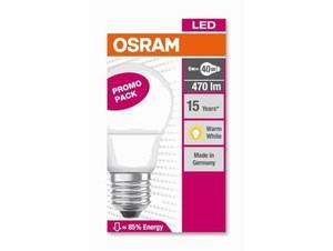 Osram LED Tropfenlampe 40 6 W ´´E 27 - 4 W´´