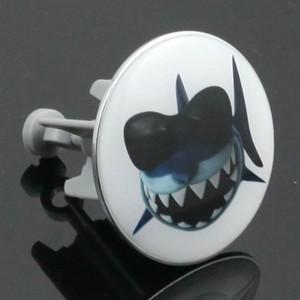 TrendLine Excenterstopfen Sharky ´´Ø 60-63 mm, für Waschtisch-Excentergarnitur´´