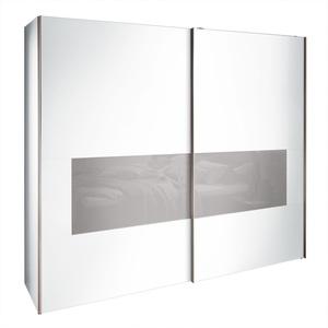 LIV`IN Schwebetürenschrank SYDNEY 250 x 216 x 68 cm Weiß
