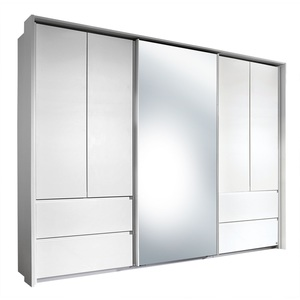 LIV`IN Kleiderschrank MEDAN 271 x 210 x 62 cm Weiß