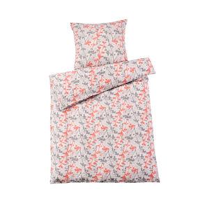 Home Seersucker-Bettwäsche in Übergröße mit Blumenmuster
