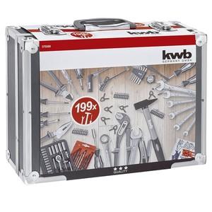 KWB Alu Werkzeugkoffer 199 tlg.
