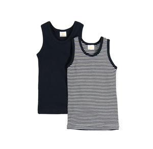 Jungen-Unterhemd, 2er Pack