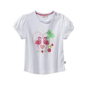 Liegelind Baby-Mädchen-T-Shirt mit Flamingo-Frontaufdruck