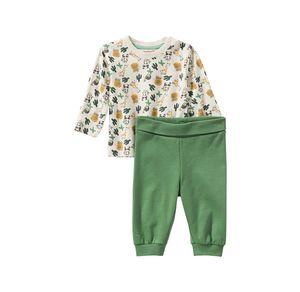 Liegelind Baby-Jungen-Set mit Safari-Muster, 2-teilig